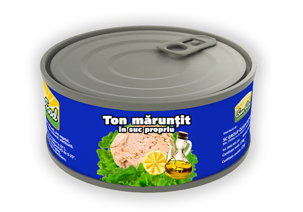 Ton maruntit in ulei vegetal 170g Sun Food